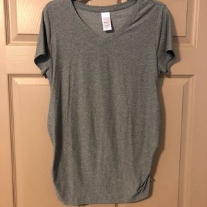 Workout maternity top